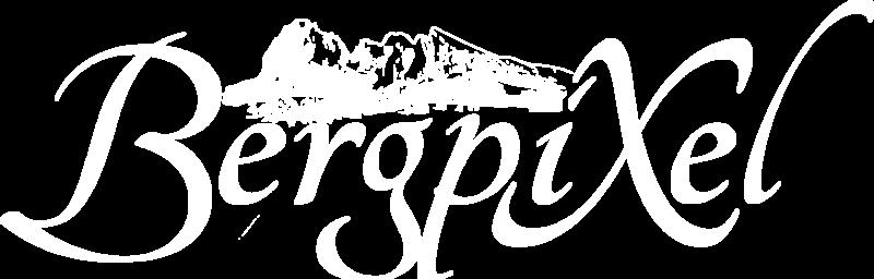Bergpixel Logo Weiss