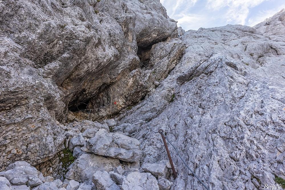 Klettersteig Stopselzieher : Bergpixel bergtour ehrwald stopselzieher klettersteig zugspitze