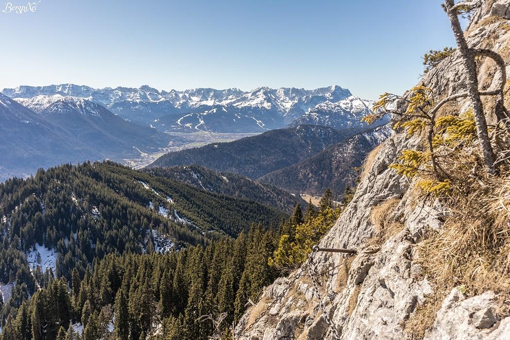 Klettersteig Am Ettaler Mandl : Bergtour von ettal auf das ettaler manndl und den laber