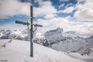 Gipfelkreuz Grünhorn - Kleinwalsertal