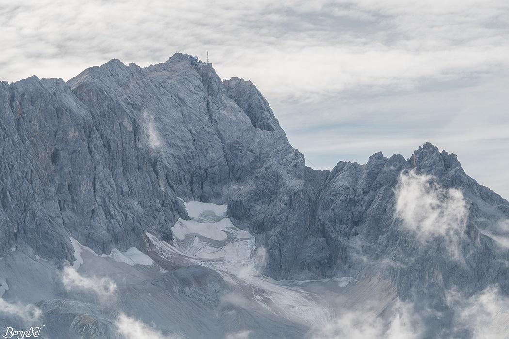 Die Zugspitze 2962m