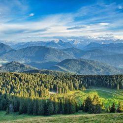 Jochberg-bayrische Voralpen