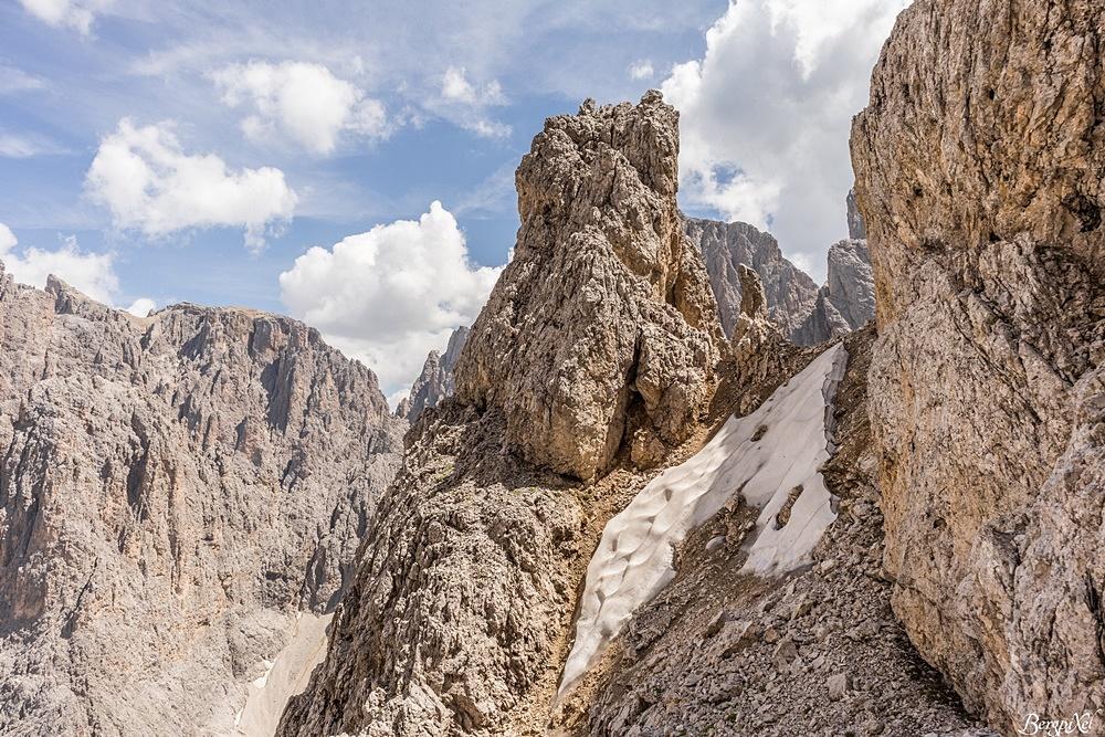 Klettersteig Plattkofel : Bergtour oskar schuster klettersteig plattkofel dolomiten