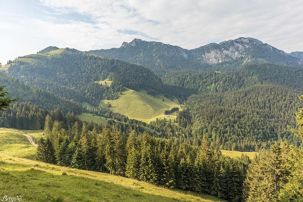 vlnr. Mitterberg-Rampoldplatte-Hochsalwand-Wendelstein