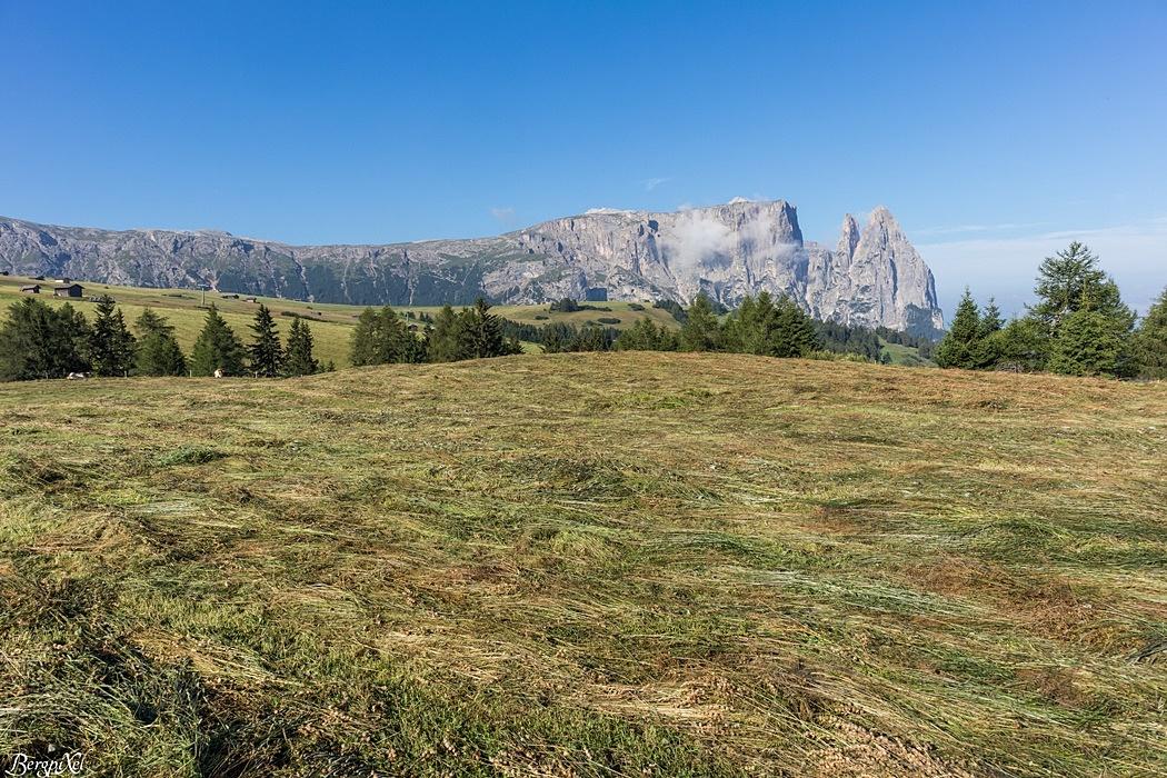 Das Wahrzeichen Südtirols, der Schlern