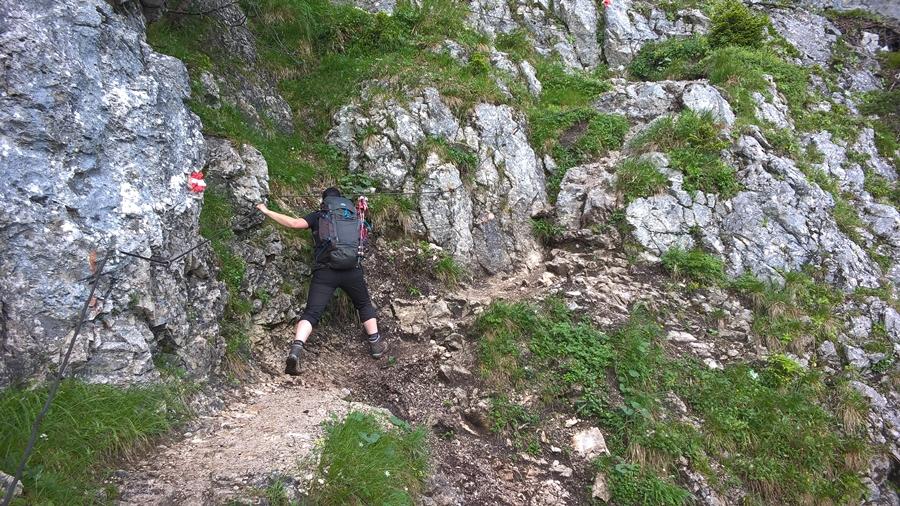 Klettersteig Coburger Hütte : Wanderung von ehrwald zur coburger hütte und den vorderen tajakopf